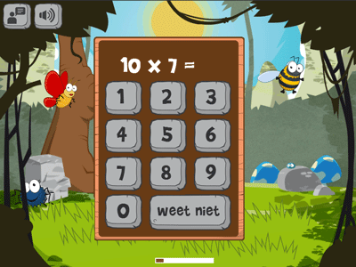 Math game (for multiplication tables) now online - Impact ...